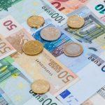 Euromunten en biljetten